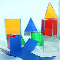 Геометричні тіла з розгорткою для кабінету математики