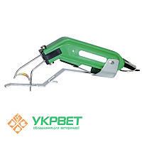 Электрический прибор (электротермокаутер) для купирования хвостов, с согнутым ножом