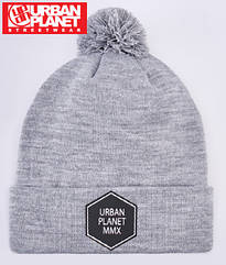 Шапка зимняя Urban Planet C13 HEX POM