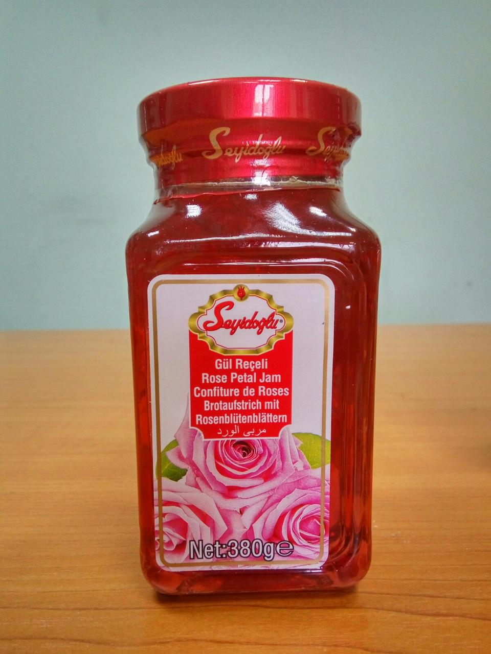 Варенье из розы, 380 г ТМ Seyidoglu
