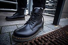 Мужские ботинки Dr. Martens Black, фото 3