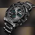 Skmei Мужские часы Skmei Molot Limited AllBlack, фото 6