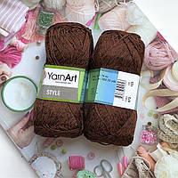 Yarn Art Style Шоколад №672