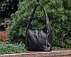 Кожаная сумка модель 18 черный флотар, фото 4