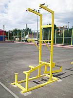Комбинированный уличный тренажер 2 в 1, фото 1