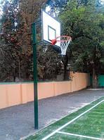 Комплект баскетбольний: стійка, щит, кошик та сітка