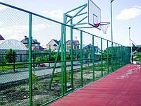 Комплект баскетбольный: стойка, щит, корзина и сетка, фото 1
