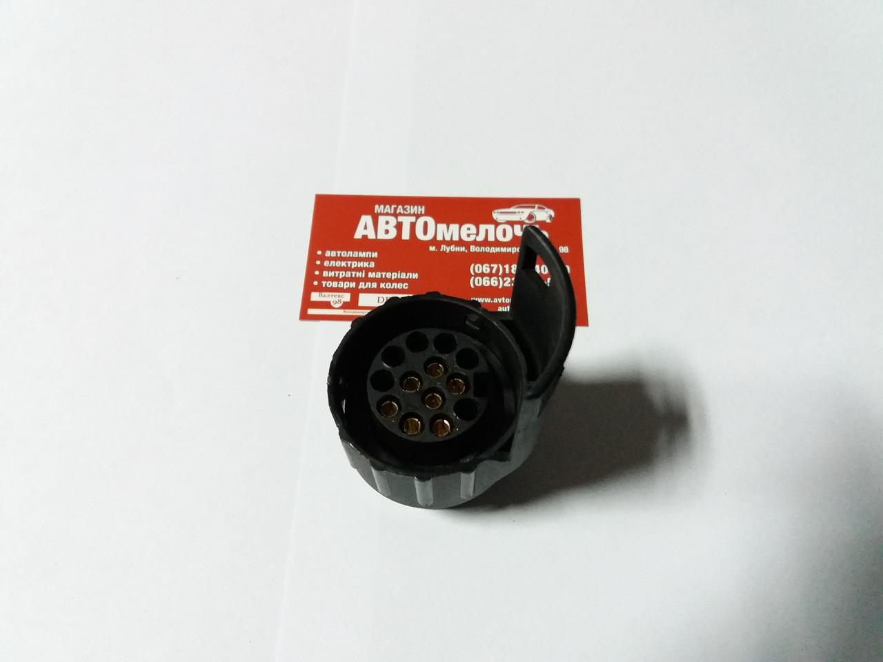 Переходник вилки прицепа с 13 контактной на 7 контактов