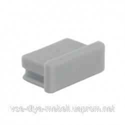 """Заглушка """"ZLL-01"""" для профиля """"LL-01"""", пластик (134820)"""