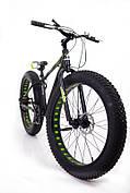 """Фэтбайк Горный велосипед S800 Hammer Extrime Колёса 26''х4,0"""". Алюминиевая рама 17"""""""