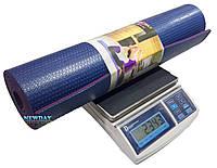 Профессиональный йога – мат, коврик для йоги, фитнеса, аэробики, 1800×600×7мм, материал PP+PVC