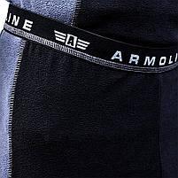 Термобелье (комплект) микрофлис ARMOLINE (BLACK/GRAY), фото 6