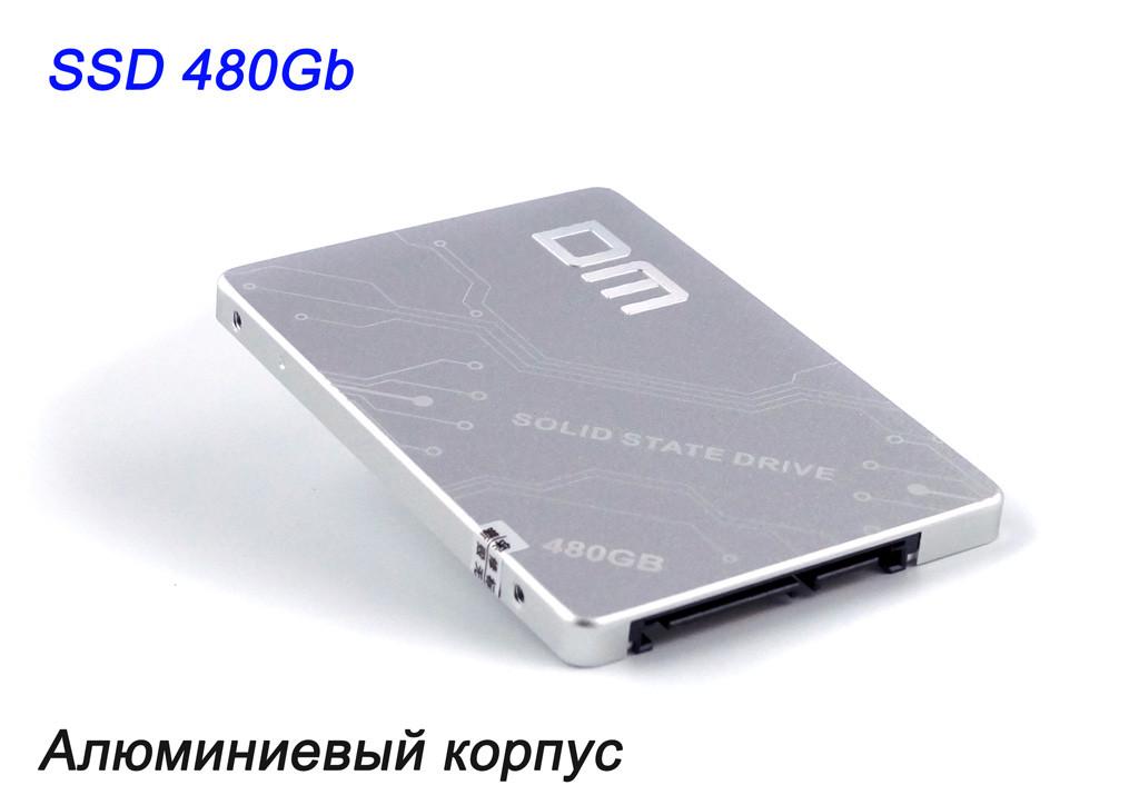"""SSD диск 480GB (480 ГБ) для ноутбука и ПК 2.5"""" (жесткий твердотельный накопитель) DM F500-480Gb SATA Ⅲ"""