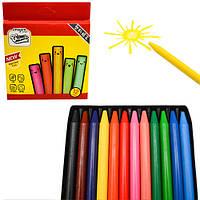 Мелки восковые CrayonLab, 12 цветов, ST00200