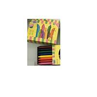 Мелки восковые  JUMBO CrayonLab, 16 цветов, ST00195