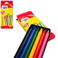 Мелки восковые CrayonLab, 6 цветов, ST00199