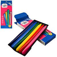 Мелки восковые  CrayonLab, пластик, 6  цветов, ST00197