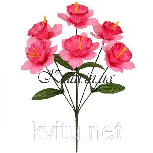 Искусственные цветы букет нарциссы,  35см