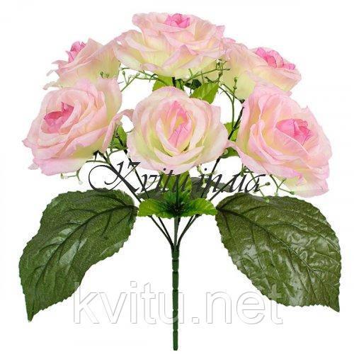 Букет розы искусственные,  38см