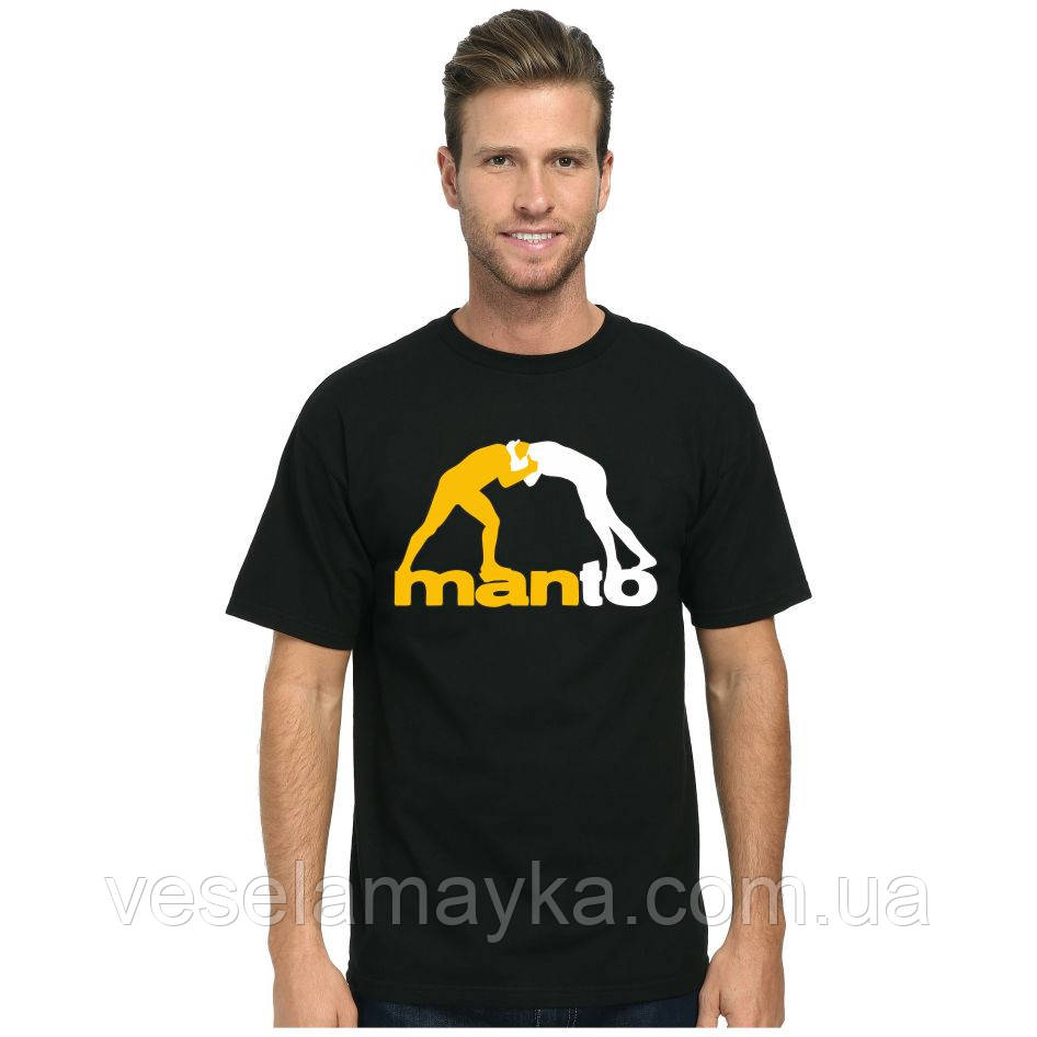 Купить Футболка Manto logo (Манто лого) 3XL, Собственное производство