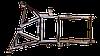 Кронштейн передней фары (металл) R Daf XF E3, E5 - XF2/104