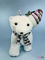 Новогодняя фигурка декоративная Медведь на 4 лапах