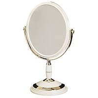 Зеркало косметическое с увеличением, двухстороннее, фото 1