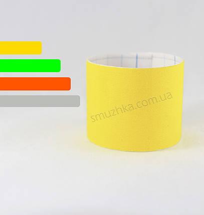 Тейп для фиксации сенсора Фристайл Либре желтый, фото 2