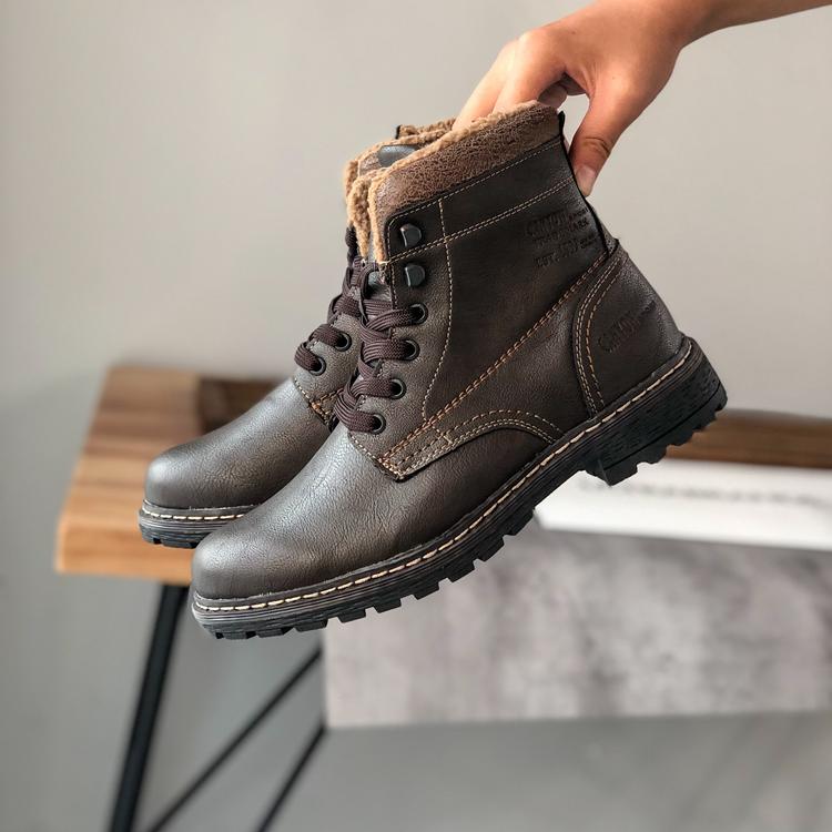 """Ботинки кожаные мужские зимние """"Canyon"""""""