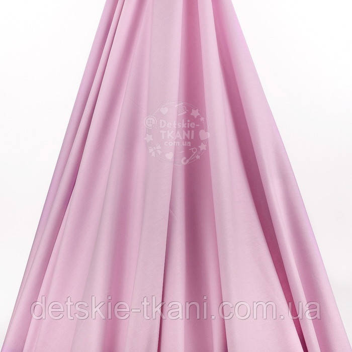 Лоскут поплина  цвет пудры с  лиловым оттенком №2429