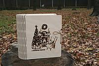 Шкатулка под подарки из фанеры, шкатулка из дерева.