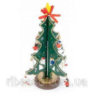 Елка новогодняя дерево (23х14,5х14,5 см) ( 29534)