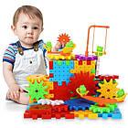 [ОПТ] Дитячий розвиваючий 3D-конструктор Funny Bricks, 81 деталь., фото 4
