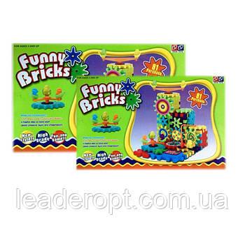 [ОПТ] Дитячий розвиваючий 3D-конструктор Funny Bricks, 81 деталь.
