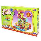 [ОПТ] Дитячий розвиваючий 3D-конструктор Funny Bricks, 81 деталь., фото 9