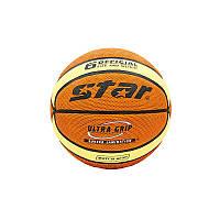 Мяч баскетбольный PU №6 Star, фото 1