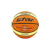 Мяч баскетбольный PU №7 Star, фото 1