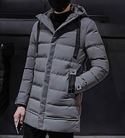 Мужской зимний пуховик. Модель 8202., фото 5