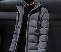 Мужской зимний пуховик. Модель 8202., фото 9