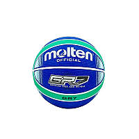 Мяч баскетбольный резиновый №7 Molten, фото 1