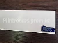 Плинтус напольный Cezar Hi-line Prestige 089Р Белый глянец