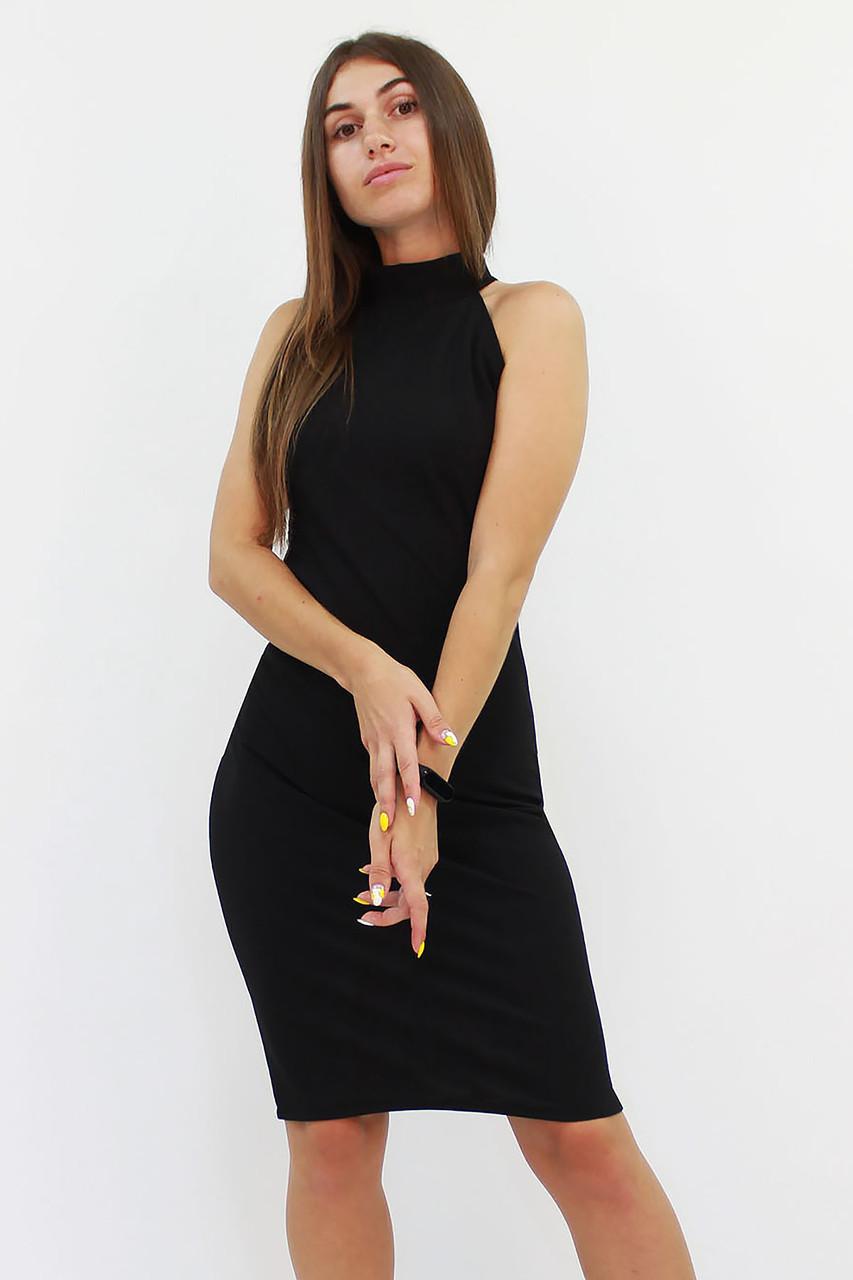 S, M, L | Коктейльне жіноче плаття Golden, чорний