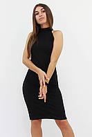 S, M, L / Коктейльне жіноче плаття Golden, чорний