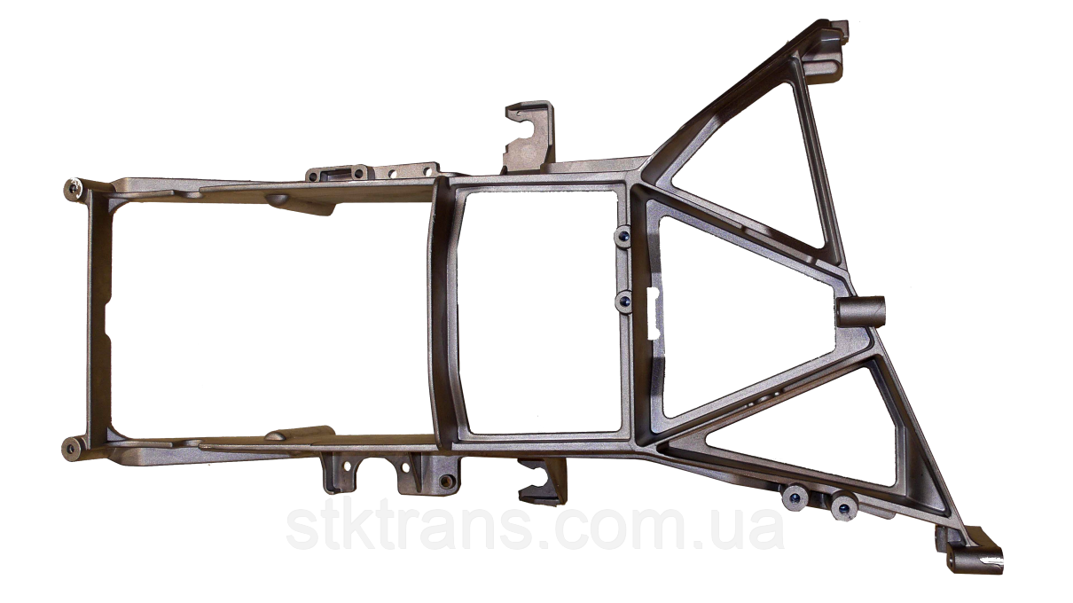 Кронштейн передней фары (металл) L Daf XF E3, E5 - DAF-HLS-001L
