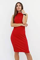 S (42-44) / Коктейльне жіноче плаття Golden, червоний