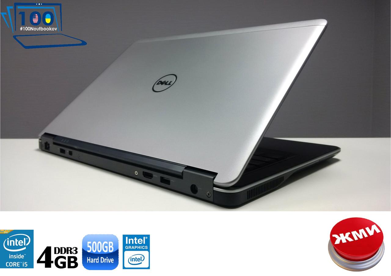 "Ноутбук (Ультрабук) БУ Dell Latitude E7440 14"" IntelCORE i5/4GB/500GB/НОВАЯ БАТАРЕЯ"