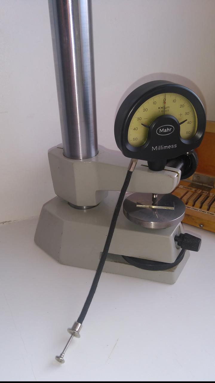 Индикатор фиксирующий стрелочный (ц. д. 1 мкм) модель 1003 Арт. 4334000 Mahr.возможна калибровка в УкрЦСМ, фото 1