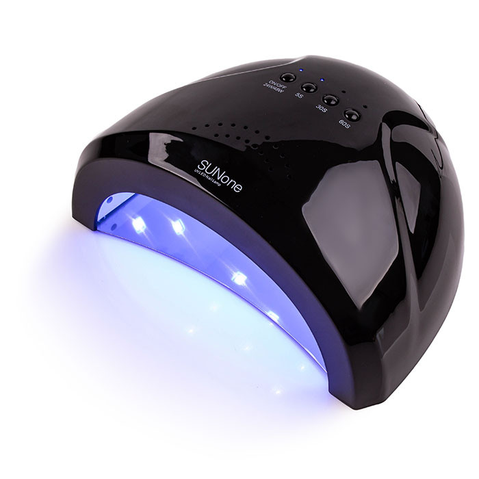 LED+UV Lamp SUN One 48W Black