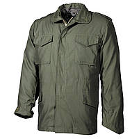 Куртка полевая US Field Jacket M65 с подкладкой, тёмно-зелёная MFH