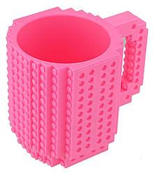Кружка-конструктор Lego 350мл Pink